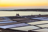 Famous salinas de Janubio in Lanzarote, Canary islands, Spain in — Stock Photo