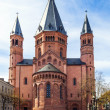 Beautiful dome in Mainz - Stock Photo