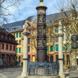 Famous Nagelsaeule in Mainz to remember dead of WW1 — Foto Stock #24016577