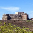 Santa Barbara Castle on the Guanapay mountain, Teguise, Lanzarot — Stock Photo