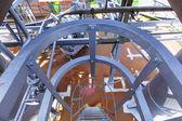 Old iron works monuments in Neunkirchen — Stock Photo
