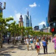 Walk along Zeil in Midday — Stock Photo #26636083