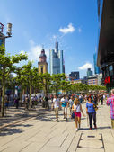 Walk along the Zeil in Midday — Stock Photo