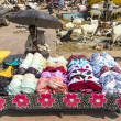 ������, ������: India man sells colorful bras at the market