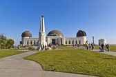 Famous Griffith observatory in Los Angeles — Stock Photo