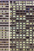 Facade of skyscrapers downtown San Francisco — Stock Photo