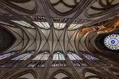 Teto de catedral famosa strassbourg — Foto Stock