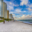 Sunny Isles Beach in Miami, Florida — Stock Photo