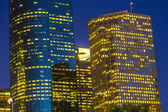 View on downtown Houston by night — Stock Photo