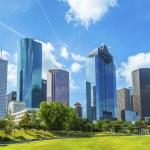 Skyline of Houston, Texas — Stock Photo