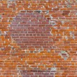 Brick pattern at the wall with two kind of bricks — Stock fotografie