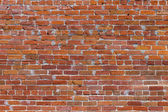 Harmonic brick pattern at the wall — Stock Photo