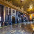 Entrance hall in in Louisiana State Capitol — Stok fotoğraf