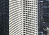Fasada nowoczesnych budynków w centrum houston — Zdjęcie stockowe