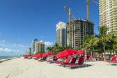 Skyscraper at Sunny Isles Beach in Miami, Florida — Foto Stock