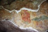 World famous frescos of ladies in Sigiriya style at the palace o — Stock Photo