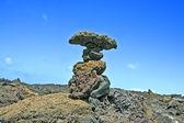 Volcano stones — Stock Photo