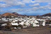 View to Uga, rural village in Lanzarote — Stock Photo