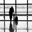 Man waiting for departure of his flight   — Stock Photo #30608825