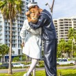 Statue Unconditional surrender by Seward Johnson — Stock Photo #30827093