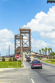 Draw bridge at Lower Ninth Ward — Fotografia Stock