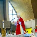Постер, плакат: Bishop Franz Peter Tebartz van Elst at the inauguration ceremony