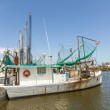 Boats for shrimps fishing in Pass Christian — Stock Photo #31134925