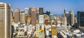 Cityview of San Francisco at midday from observation platform — Stock Photo