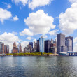 New York City panorama with Manhattan Skyline  — Lizenzfreies Foto