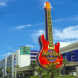 Guitar emblem of Hard Rock Casino in Beloxi — Stock Photo