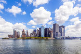 New York City panorama with Manhattan Skyline — Stock Photo