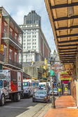 Historic building in the French Quarter — Stock Photo