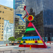 Постер, плакат: Sculpture Personage and Birds by Joan Miro in Houston