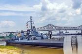Ship USS Kidd serves as museum — Stock Photo