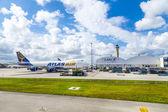 Atlas air at Miami Airport — Stock Photo