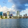 Skyline of Miami — Stock Photo