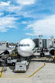 Internationalen flughafen miami — Stockfoto