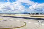 Miami international Airport — Stock Photo