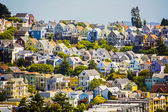 Urban villages in San Francisco — Stock Photo