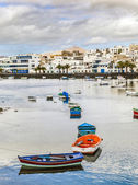 Charco de San Gines, Arrecife, — Stock Photo