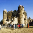 People love to marry in Gondar — Stock Photo