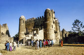 People love to marry in Gondar — Foto Stock
