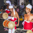 Musicians participate the festival Pera Hera in Kandy — Stock Photo