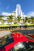 Breakwater hotel located at Ocean Drive — Stock Photo