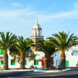 Belltower of the Iglesia San Miguel in Teguise — Foto Stock