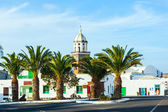 Belltower of the Iglesia San Miguel in Teguise — Стоковое фото