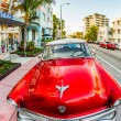 Classic Ford car parks in the art deco district — Stock Photo #32701331