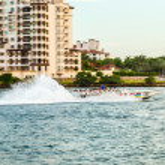 ������, ������: Tourists enjoy the speedboat trip