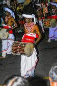 Musicians participate the festival Pera Hera in Kandy — Stock Photo