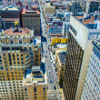 View from rooftop to city of SFrancisco — Stock Photo #33147271